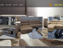 Website trang trí nội thất chuyên nghiệp Hoàn Mỹ