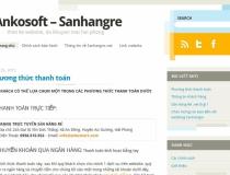 Web Blog Wordpress Sanhangre