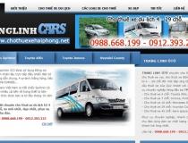Website Cho thuê xe ô tô Hải Phòng - Trang Linh
