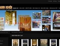 Website Đèn chùm nội thất