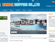 Website Công ty TNHH Vận Tải Biển Namae