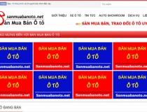 Website Sàn mua bán ô tô