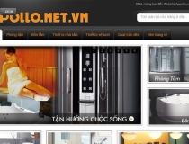 Website Phòng tắm bồn tắm Appollo
