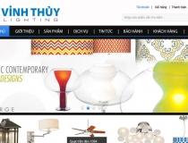 Website Đèn trang trí Vinh Thủy