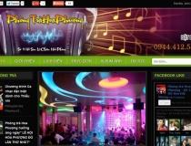 Website Phòng trà Hoa Phượng
