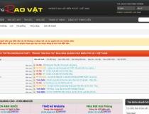 Website Thị trường Rao vặt Việt Nam
