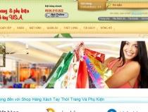 Website bán hàng Đồ Hàn Quốc