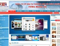 Website công ty máy tính FSI