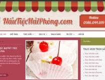 Website Nấu Tiệc Hải Phòng