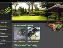 Website Chè Thái Nguyên