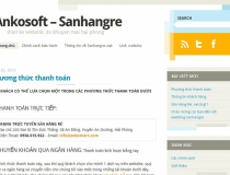 Web Blog Wordpress Sanhangre