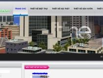 Website Công ty CP Đầu tư & XD Số 1 Hà Thành