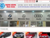 Website Mạnh Hùng Auto Salon