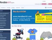 Webshop bán hàng Mẹ và bé
