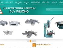 Website Công ty Cơ khí Thương mại Duy Phương
