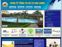 Website Công ty TNHH DV TV Phú Hưng