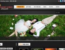 Website Áo cưới Hoàng Long